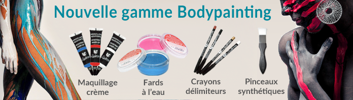 Nouvelle gamme bodypainting