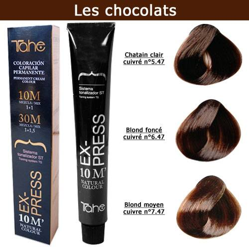 coloration cheveux express 10 minutes tons chocolats coloration cheveux. Black Bedroom Furniture Sets. Home Design Ideas