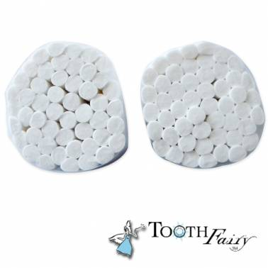 100 Cotons de nettoyage dentaire Tooth Fairy