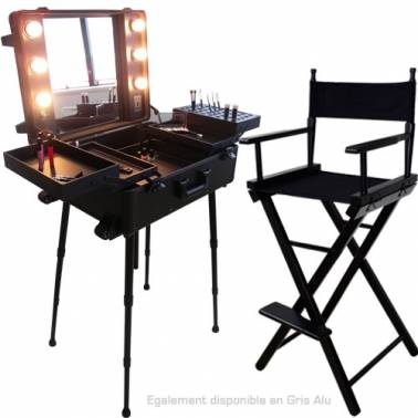 mat riel et mobilier maquillage table de maquillage professionnelle studio make up en vente sur. Black Bedroom Furniture Sets. Home Design Ideas
