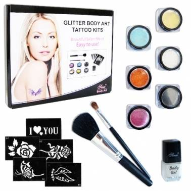 Kit complet tatoo paillettes