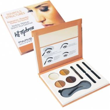 Maquillage des sourcils, kit complet Parisax