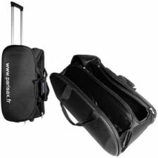 Sac de transport Parisax, valise maquillage trolley