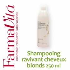 Shampooing ravivant cheveux blonds multi tons FarmaVita - 250 ml