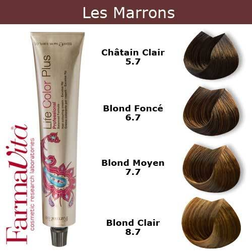 Coloration Cheveux Farmavita Tons Marrons Coloration Cheveux