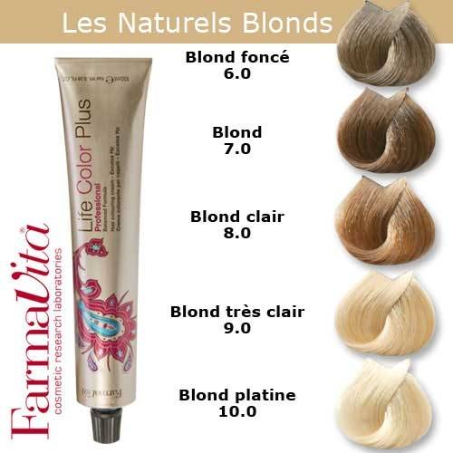 Coloration Cheveux Farmavita Tons Blonds Naturels Coloration Cheveux