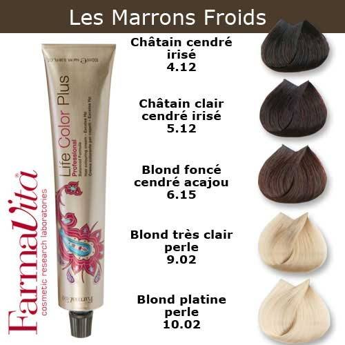 Coloration Cheveux Farmavita Tons Marrons Froids Coloration Cheveux