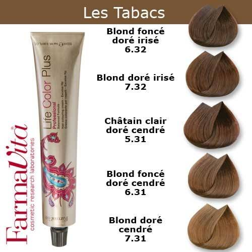 Cheveux marron tabac