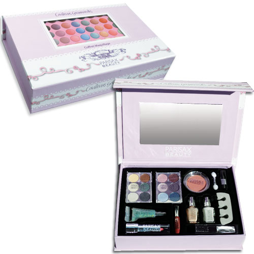 Coffret de maquillage Gourmand Parisax
