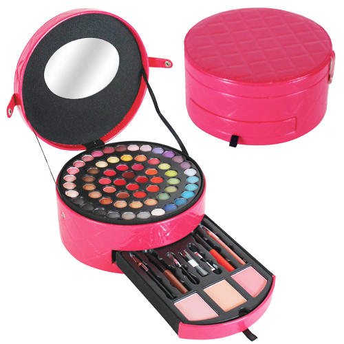 Coffret rond de maquillage Beauty Box