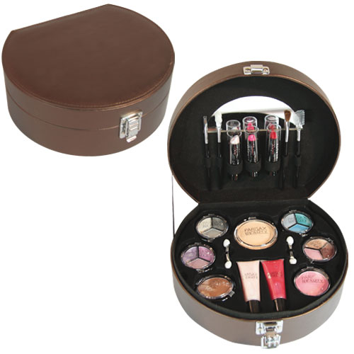 Coffret maquillage Rond Bronze Parisax