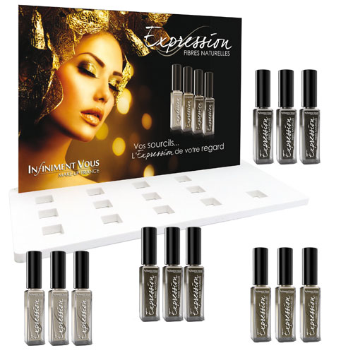 Kit de vente 12 flacons de EXPRESSION Sourcils, maquillage des sourcils