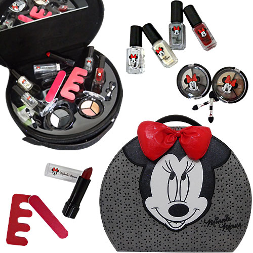 Coffret maquillage Le Noeud Rouge de MINNIE