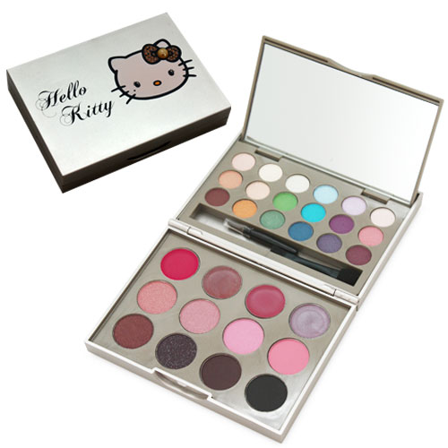 Palette de maquillage double plateau HELLO KITTY