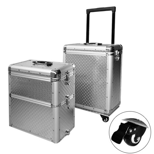 valise trolley maquillage coiffure et esthetique trilux alu bagagerie professionnelle. Black Bedroom Furniture Sets. Home Design Ideas