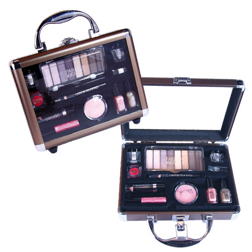 Valise maquillage Bronze Parisax