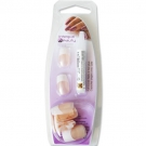 Faux ongles French Naturel avec colle (x24)