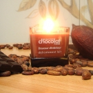 Bougie traditionnelle parfum Chocolat au Lait