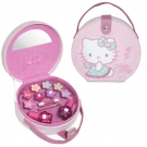 Coffret de maquillage velours HELLO KITTY, Rose