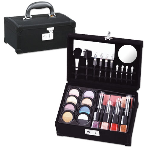 coffret de maquillage velours luxe malette maquillage. Black Bedroom Furniture Sets. Home Design Ideas