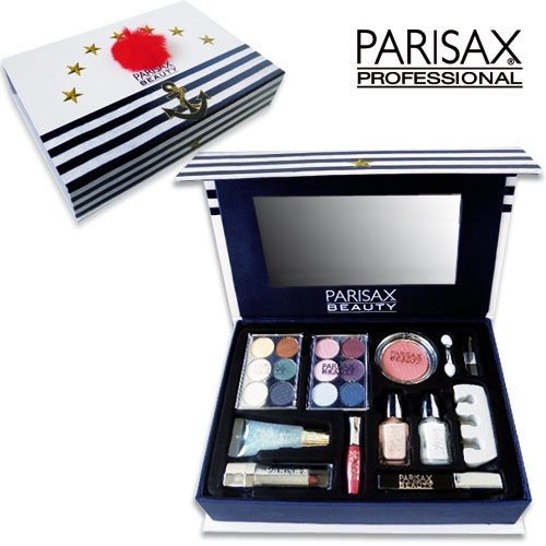 coffret maquillage parisax marin un ensemble complet de produits maquillage. Black Bedroom Furniture Sets. Home Design Ideas