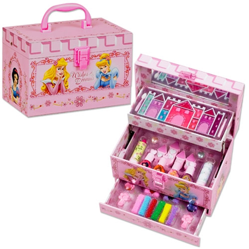 valise maquillage multiplateaux princesses disney cadeau maquillage pour enfant. Black Bedroom Furniture Sets. Home Design Ideas