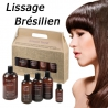 Kit complet Lissage Brésilien rechargeable Amazon Secret