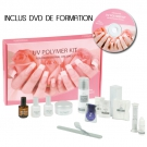 Kit  faux ongles gel UV 15 pièces + DVD
