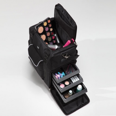 Valise Trolley de maquillage professionnel Cantoni XL