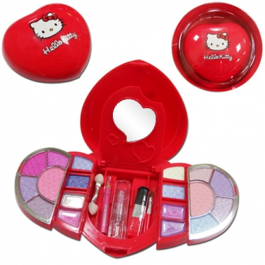 Coffret de maquillage Coeur rouge Hello Kitty