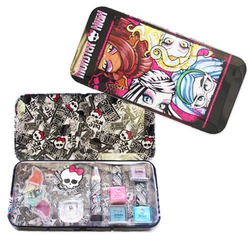 plumier coffret maquillage monster high
