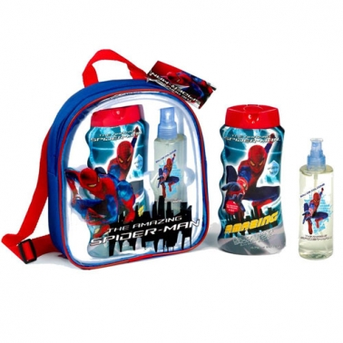Sac à dos Spiderman Eau de cologne 200ml + Gel douche 475ml