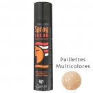 Spray pailleté Multicolor Corps et cheveux Laukrom 75ml