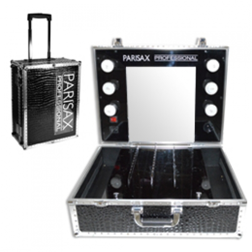 valise maquillage pro miroir et lumi re parisax. Black Bedroom Furniture Sets. Home Design Ideas