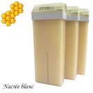 Lot de 3 recharges cire d'abeilles Nacrée blanc - Roll-on 100 ml