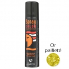 Spray pailleté Or Corps et cheveux Laukrom 75ml